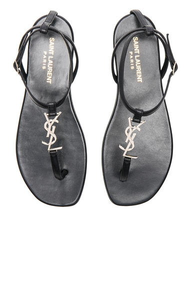 Leather Nu Pieds Sandals