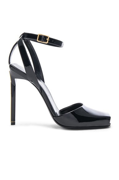 Patent Leather Edie Heeled Sandals