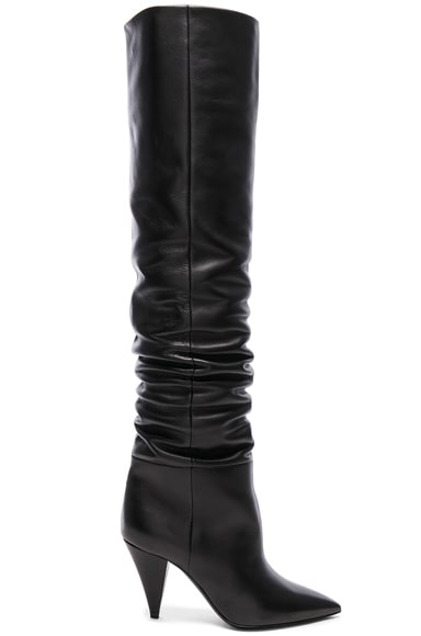 Era Leather Thigh High Boots