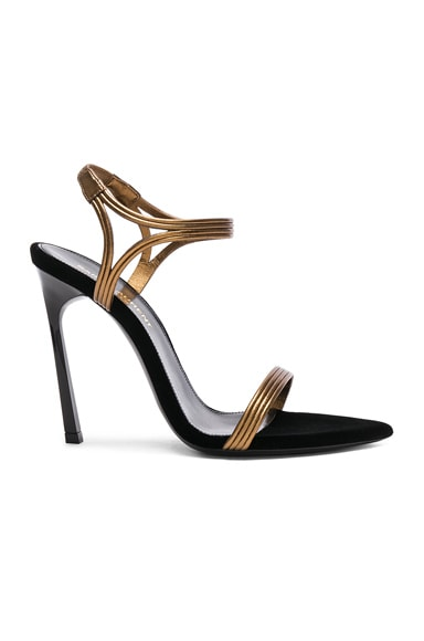 f88809dd1 Talitha Metallic Leather Sandals