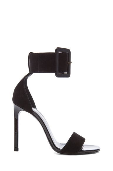 Jane Suede Ankle Strap Sandals