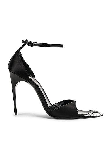 Palace Crystal Heel Sandal
