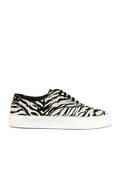 Zebra Low Top Sneakers