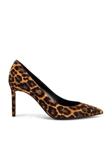 Anja Leopard Pumps