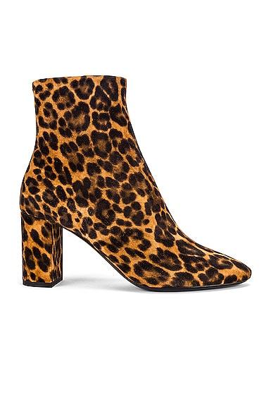 Lou Leopard Booties