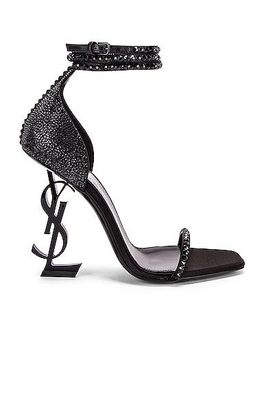 Swarovski Opyum Double Ankle Strap Sandals