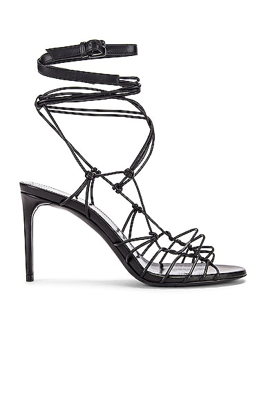 Robin Zig Zag Heels by Saint Laurent