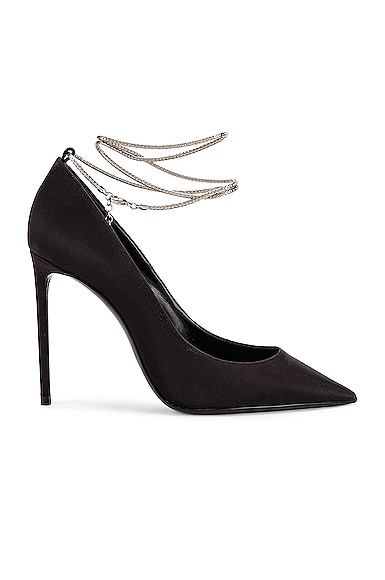 Zoe Ankle Chain Heels
