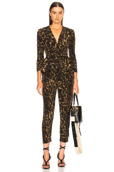 Liliana Leopard Camouflage Jumpsuit