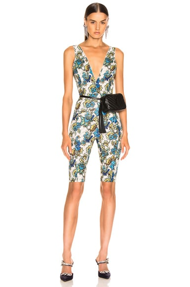 All In One Monogram Jumpsuit