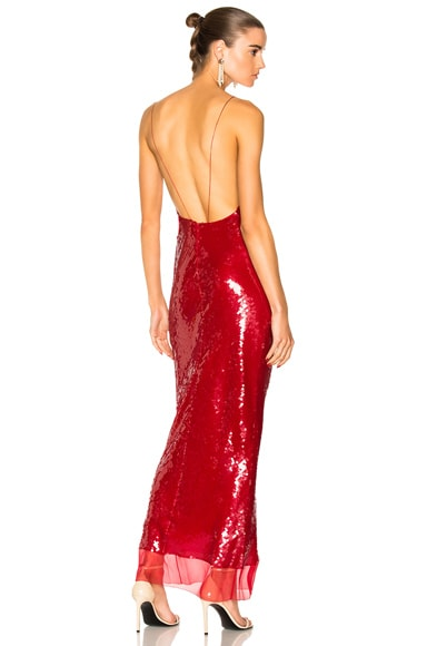 Bernice Sequin Maxi Dress