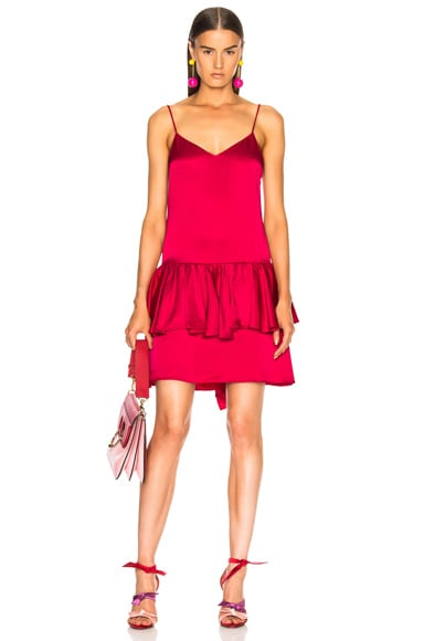 Peplum Sleeveless Mini Dress