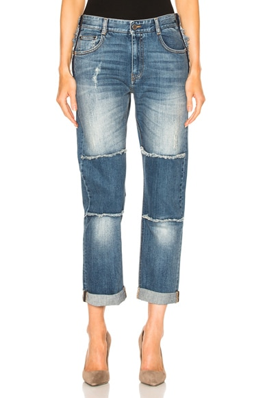 Knee Patch Jeans