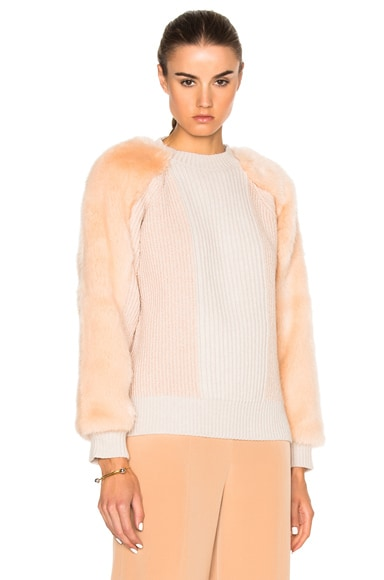 Faux Fur Jumper