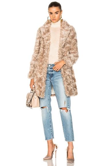 Toti Faux Fur Coat