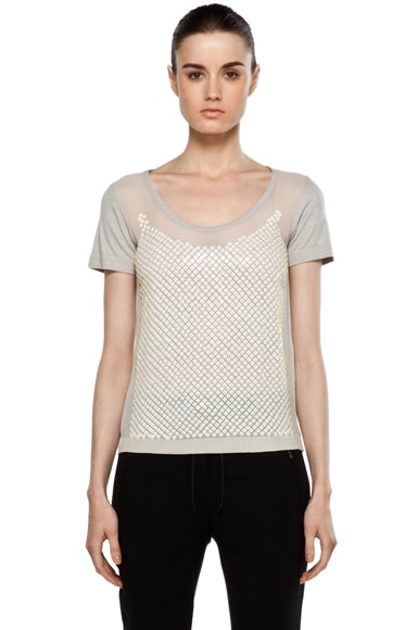 Disty Beading T Shirt