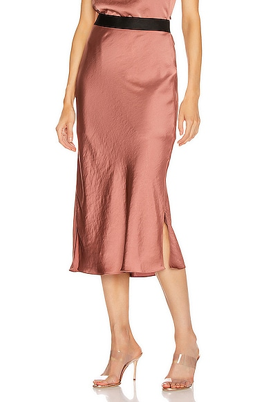 Bias Cut Slip Skirt