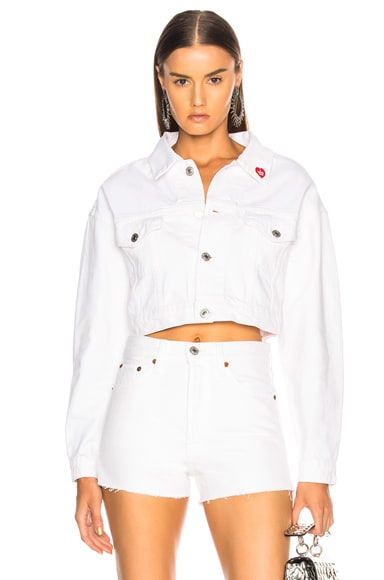 x RE/DONE Hollywood Cropped Jacket