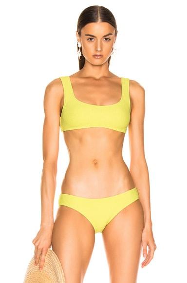 Squiggle Bikini Top
