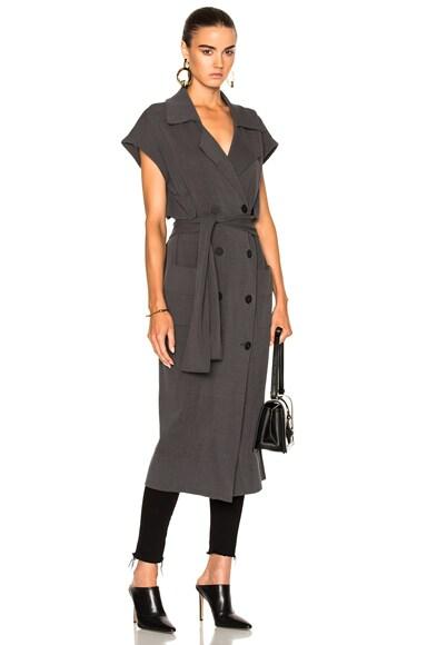 Marge Sleeveless Trench Coat