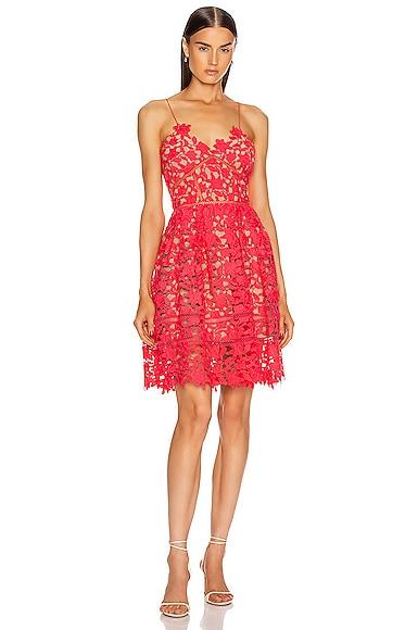 Hot Pink Mini Azalea Dress