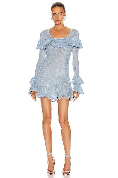 Lurex Knit Tunic