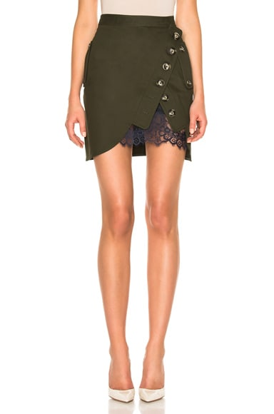 Utility Mini Skirt