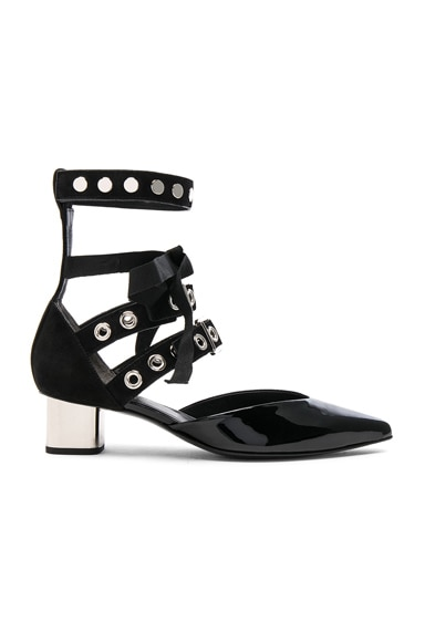 x Robert Clergerie Patent Leather Susao Heels