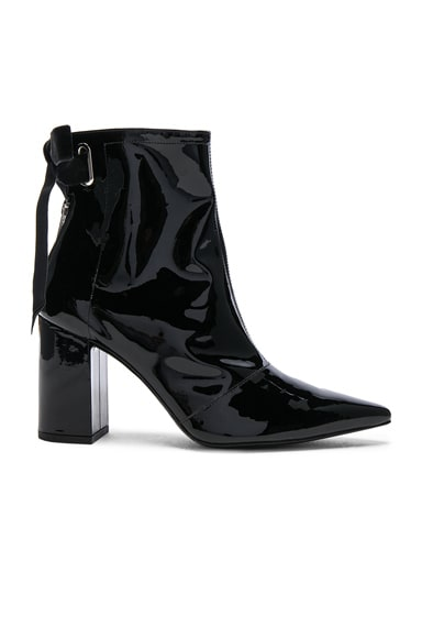 x Robert Clergerie Karli Patent Leather Boots
