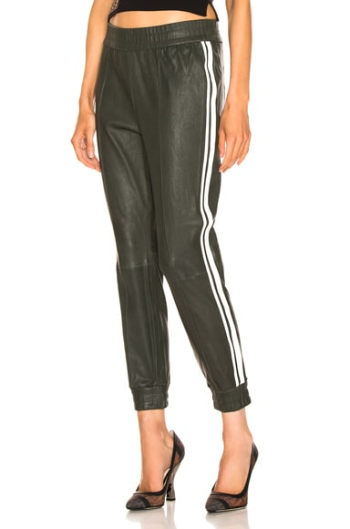 High Waist Two Stripe Jogger