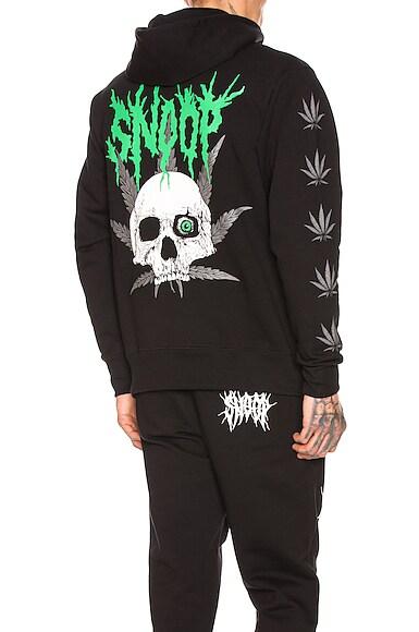 SSSNOOP Weed Skull Hoodie