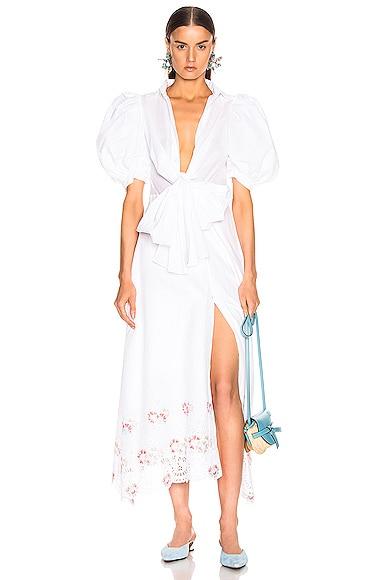 for FWRD Embroidered Assunta Dress