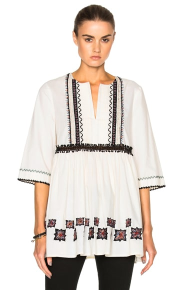 Cotton Leaf Tunic
