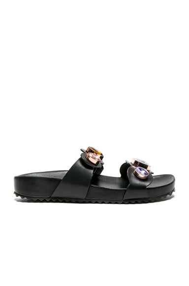 Leather Becky Gem Slides
