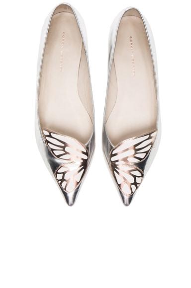Leather Bibi Butterfly Flats