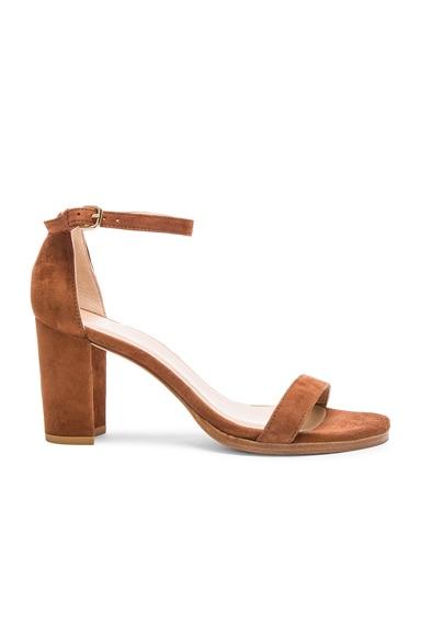 Suede Simple Heels