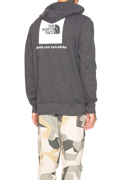 Red Box Pullover Hoodie