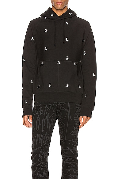 Mickey Mouse Embroidered Hoodie