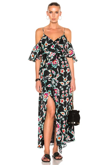 Mosaic Floral Lorena Dress