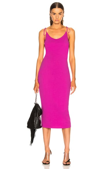 High Twist Midi Dress