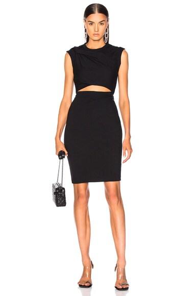Compact Shoulder Twist Dress