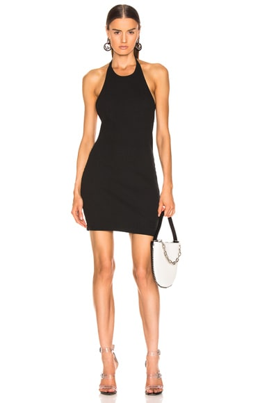 Wide Rib Halter Dress