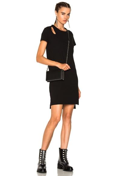 Dress with Teardrop Cutout