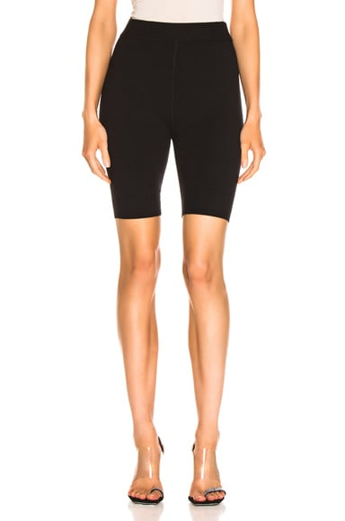 Bodycon Basic Biker Short