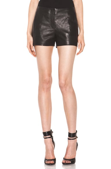 Lightweight Leather Short