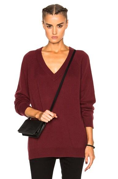 Cashwool Deep V Neck Sweater