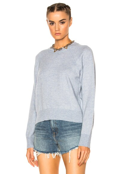 Cashwool Crew Crop Sweater