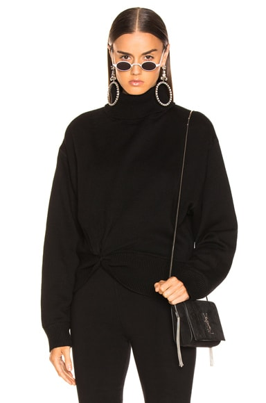 Double Layered Turtleneck Sweater