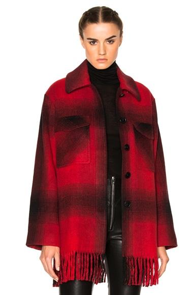 Oversized Shirt Coat