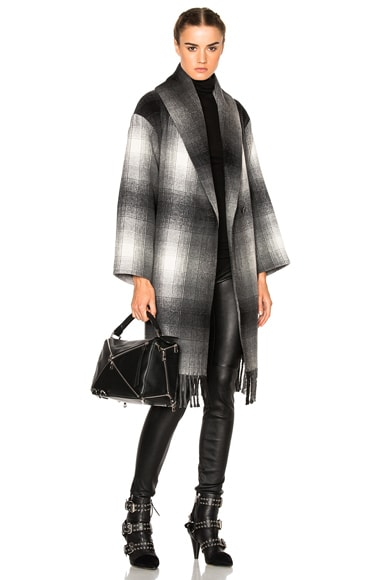 Oversized Shawl Coat